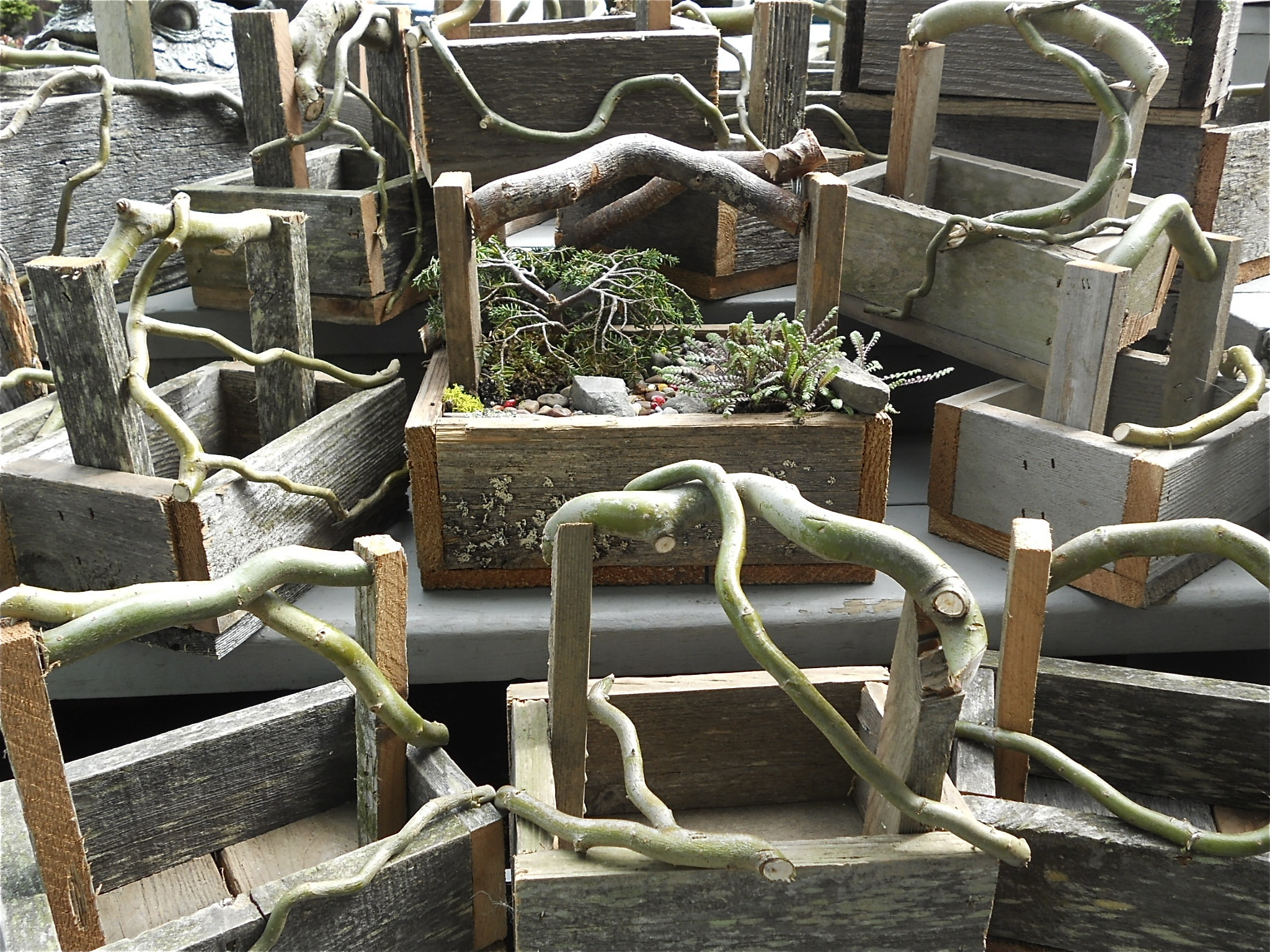 Handmade Twig Trugs from Whitbey Island
