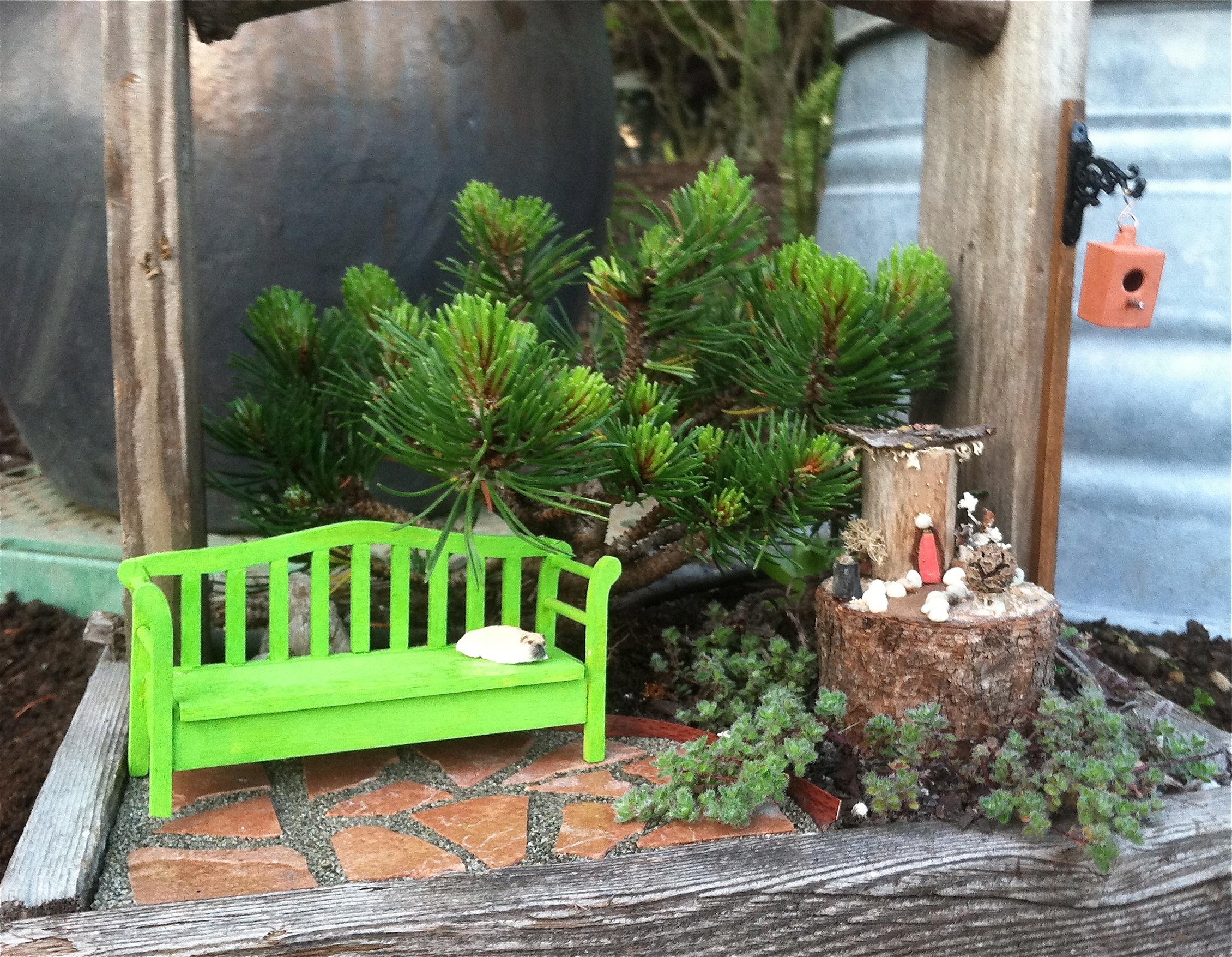 Miniature Fairy House for the Miniature Garden