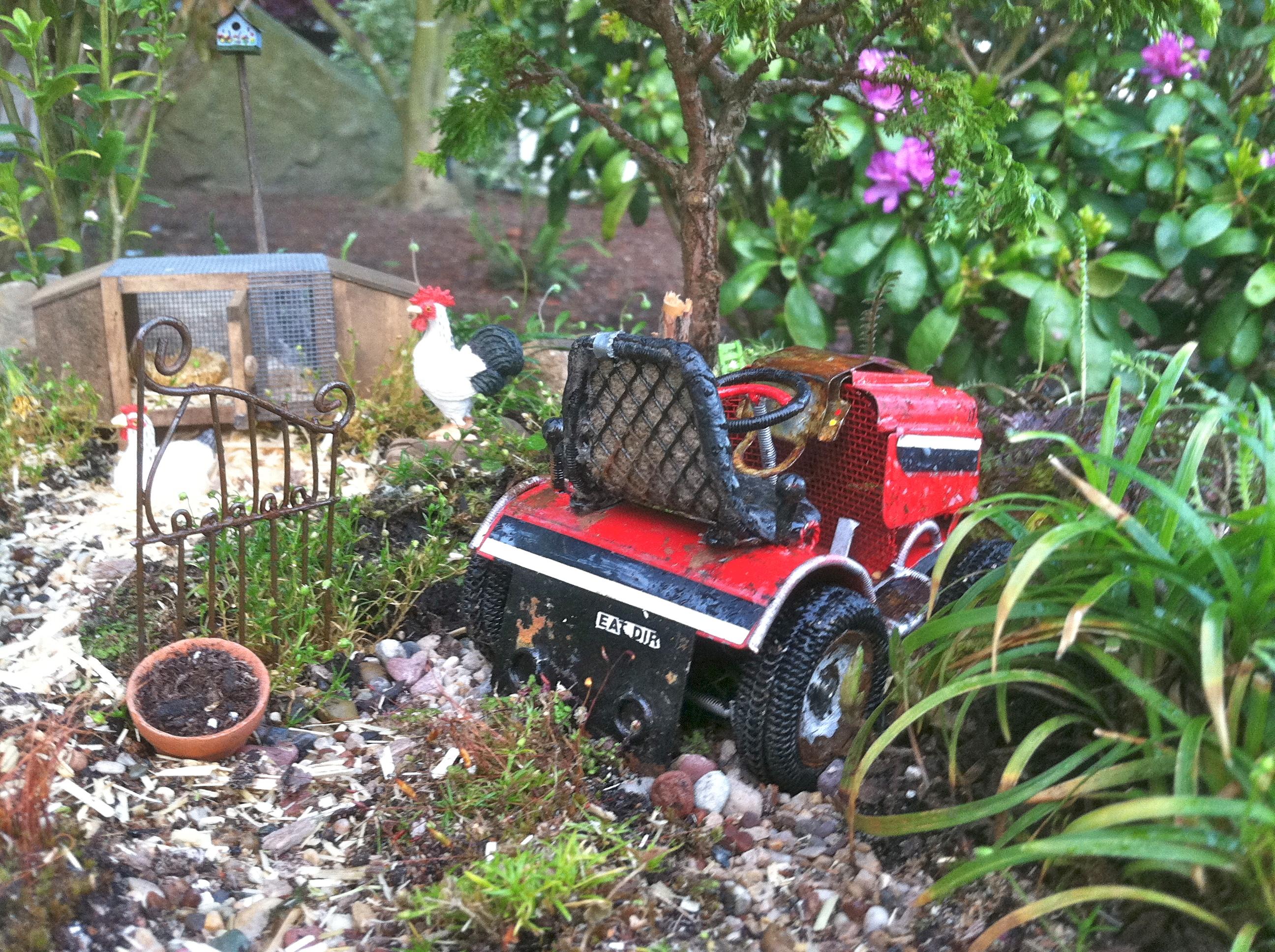 Miniature Farm Garden Tractor.