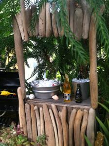 A Miniature Tiki Bar