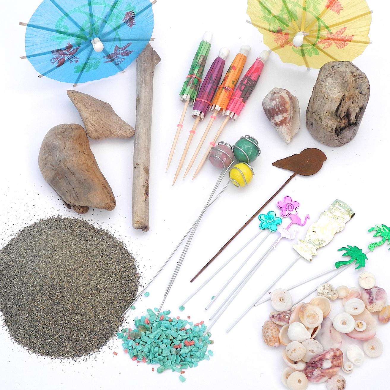 Win Miniature Tiki Party Decorations!