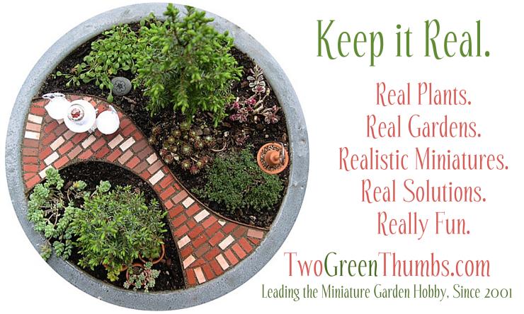 Two Green Thumbs Miniature Garden Center