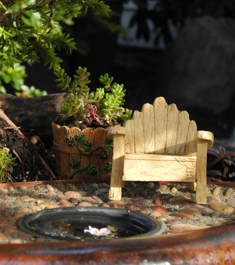 Fairy Gardening with Plow & Hearth