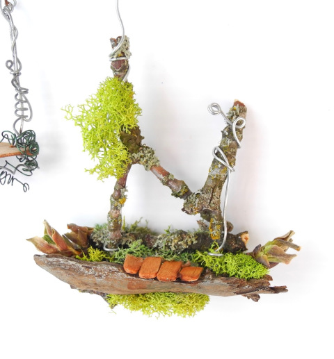 Fairy Fantasy Trees from TwoGreenThumbs.com