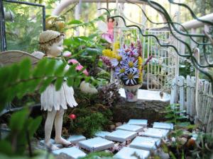 A very pretty little Fairy Garden