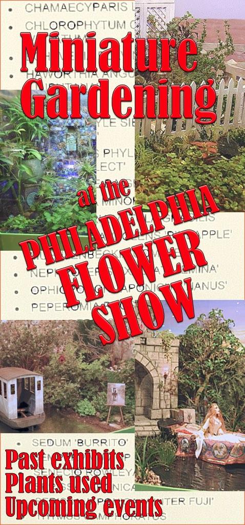 Miniature Gardening at the Philadelphia Flower Show