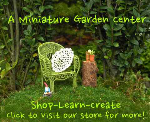 Shop Miniature Gardens at Two Green Thumbs