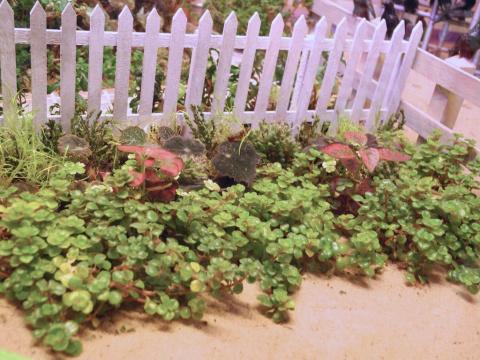 Philadelphia Flower Show Miniature Garden Settings