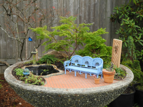 Miniature Garden for Eastern Washington